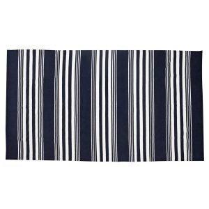 Lexington Striped Matto Sininen / Valkoinen 170x280 Cm