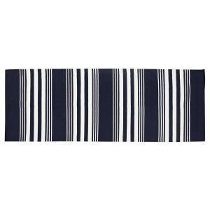 Lexington Striped Matto Sininen / Valkoinen 80x220 Cm