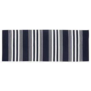 Lexington Striped Matto Sininen / Valkoinen 80x220 Cm