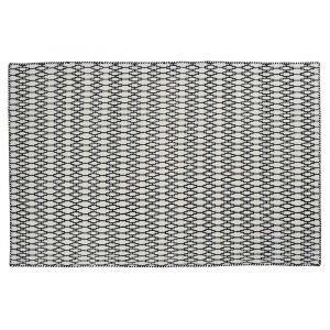 Linie Design Elliot Matto White / Black 200x300 Cm