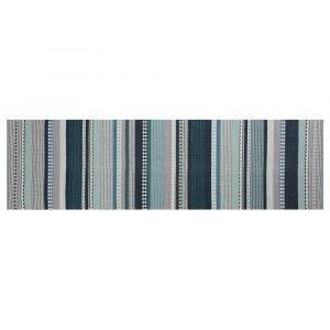 Linie Design Hibiscus Matto Aqua 80x280 Cm