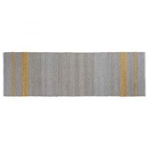 Linie Design Norwich Matto Yellow 80x250 Cm