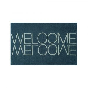 Linie Design Welcome Ovimatto Green 50x80 Cm