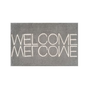Linie Design Welcome Ovimatto Grey