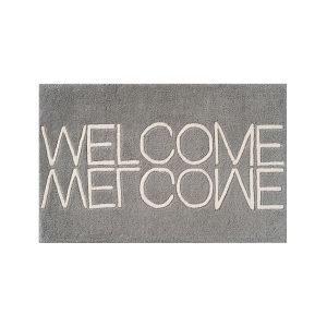 Linie Design Welcome Ovimatto Grey