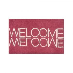 Linie Design Welcome Ovimatto Pink 50x80 Cm