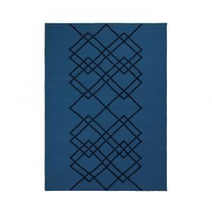 Louise Roe Matto Borg Royal Blue 140x200 Cm