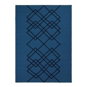 Louise Roe Matto Borg Royal Blue 170x240 Cm