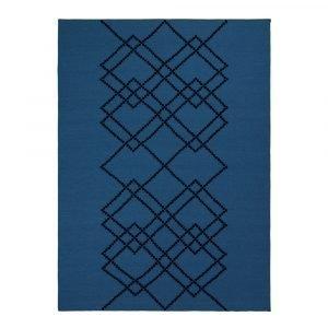Louise Roe Matto Borg Royal Blue 170x240 Cm