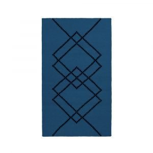 Louise Roe Matto Borg Royal Blue 80x140 Cm