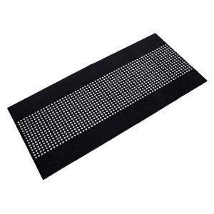 Mette Ditmer Dots Ovimatto Musta / Valkoinen 70x150 Cm
