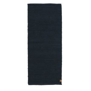 Mette Ditmer Ribbon Matto Jute Tummansininen 70x150 Cm