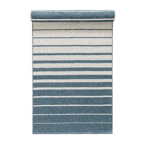Nordic Nest Fade Matto Dusty Blue Sininen 70x200 cm