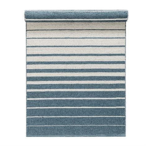 Nordic Nest Fade Matto Dusty Blue Sininen 80x200 cm