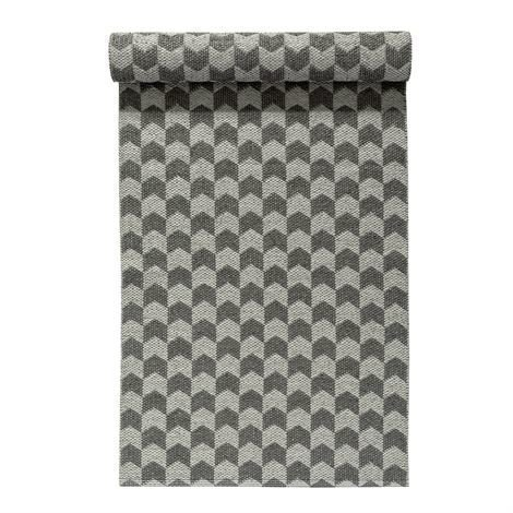Nordic Nest Knit Matto Concrete-Charcoal Vaaleanharmaa-Tummanharmaa 70x150 cm