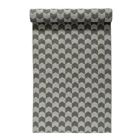 Nordic Nest Knit Matto Concrete-Charcoal Vaaleanharmaa-Tummanharmaa 70x300 cm
