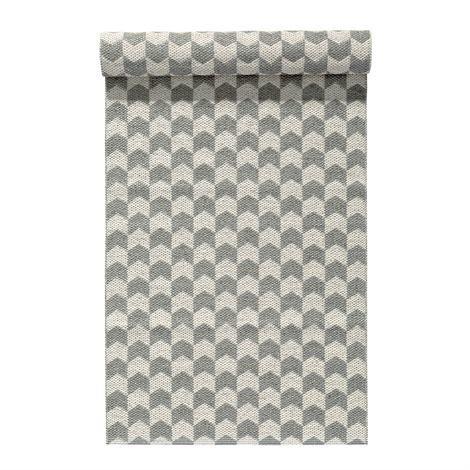 Nordic Nest Knit Matto Concrete Harmaa 70x300 cm