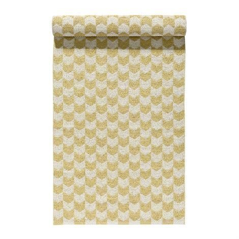 Nordic Nest Knit Matto Honey Keltainen 70x200 cm