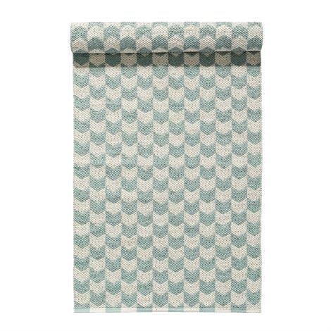Nordic Nest Knit Matto Mint Mintunvihreä 70x300 cm
