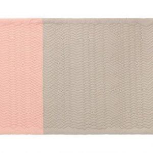 Normann Copenhagen Trace matto Rosa/Hiekka