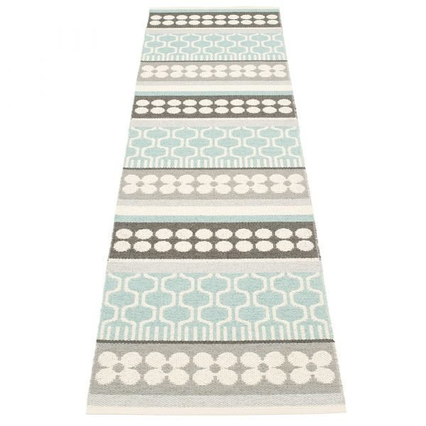 Pappelina Asta Matto Pale Turquoise 70x180 Cm