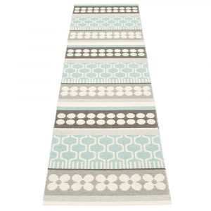 Pappelina Asta Matto Pale Turquoise 70x270 Cm