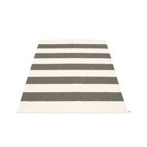 Pappelina Bob Matto Charcoal / Vanilla 140x220 Cm