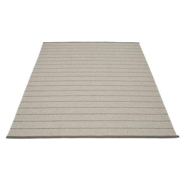 Pappelina Carl Matto Grey / Fossil Grey 180x260 Cm