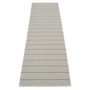 Pappelina Carl Matto Grey / Fossil Grey 70x270 Cm