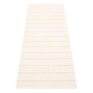 Pappelina Carl Matto Vanilla / White 70x180 Cm