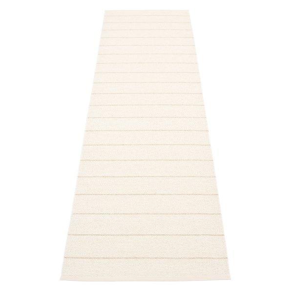 Pappelina Carl Matto Vanilla / White 70x270 Cm
