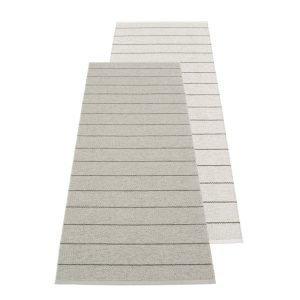 Pappelina Carl Muovimatto Grey Fossil Grey 70x180 Cm