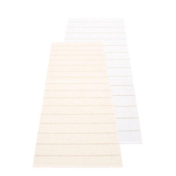 Pappelina Carl Muovimatto Vanilla White 70x180 Cm