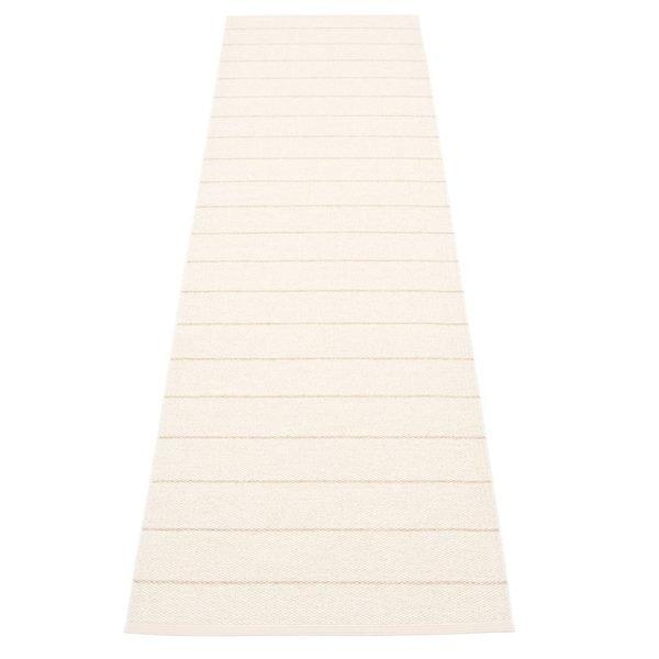 Pappelina Carl Muovimatto Vanilla White 70x270 Cm