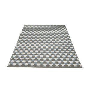 Pappelina Dana Matto Charcoal / Grey 180x275 Cm