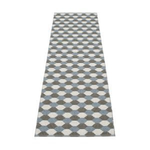 Pappelina Dana Matto Charcoal / Grey 70x250 Cm