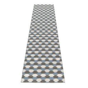 Pappelina Dana Matto Charcoal / Grey 70x335 Cm