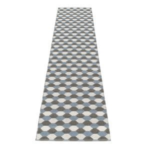 Pappelina Dana Matto Charcoal / Grey 70x400 Cm