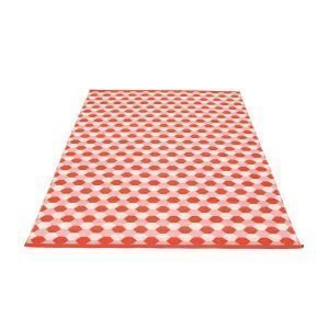Pappelina Dana Matto Coral Red / Piglet 180x275 Cm