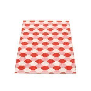 Pappelina Dana Matto Coral Red / Piglet 70x100 Cm