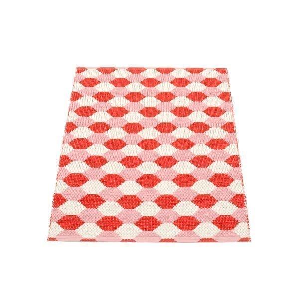 Pappelina Dana Matto Coral Red / Piglet 70x100 Cm