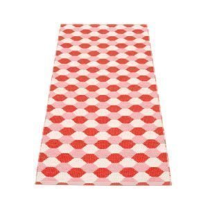 Pappelina Dana Matto Coral Red / Piglet 70x160 Cm