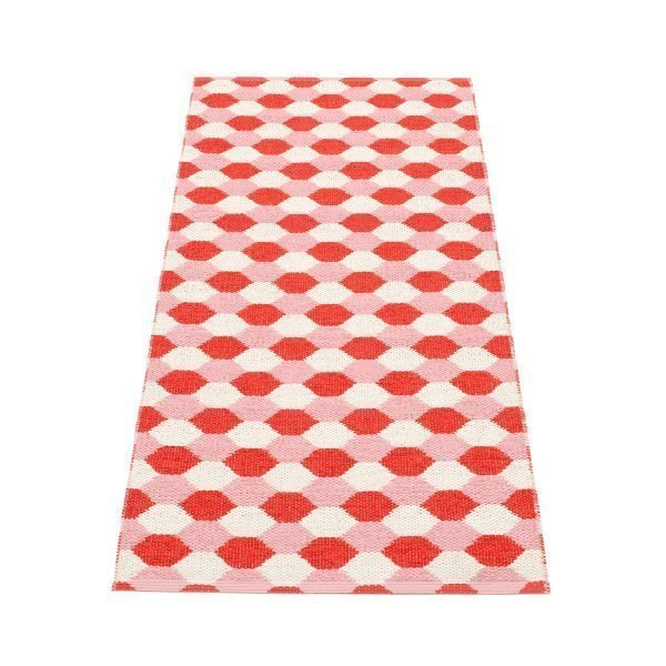 Pappelina Dana Matto Coral Red / Piglet 70x160 Cm