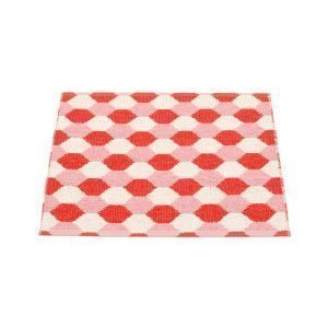 Pappelina Dana Matto Coral Red / Piglet 70x60 Cm