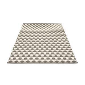 Pappelina Dana Matto Warm Grey / Charcoal 180x275 Cm