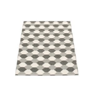 Pappelina Dana Matto Warm Grey / Charcoal 70x100 Cm