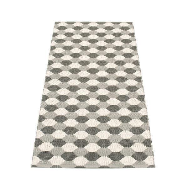Pappelina Dana Matto Warm Grey / Charcoal 70x160 Cm