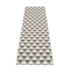 Pappelina Dana Matto Warm Grey / Charcoal 70x250 Cm