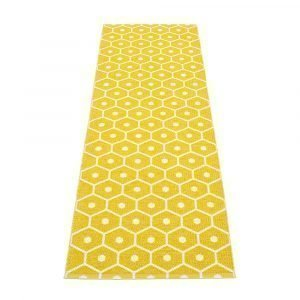 Pappelina Honey Matto Mustard / Vanilla 70x225 Cm