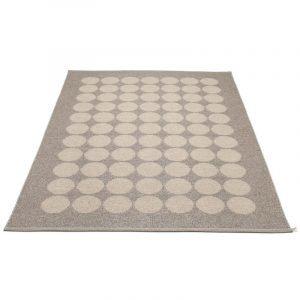 Pappelina Hugo Matto Metallic Mud / Mud 180x260 Cm